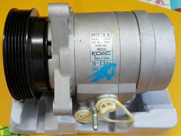 Lốc điều hòa xe Captiva máy xăng