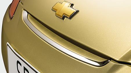 Ốp nắp ca pô mạ crôm xe Spark M200 chính hãng GM