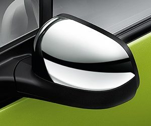 Ốp gương chiếu hậu mạ Crome xe Spark m300 chính hãng