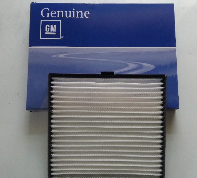 Lõi lọc gió điều hòa xe Chevrolet Aveo chính hãng GM