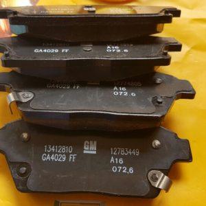 Má phanh trước xe Lacetti CDX nhập chính hãng GM