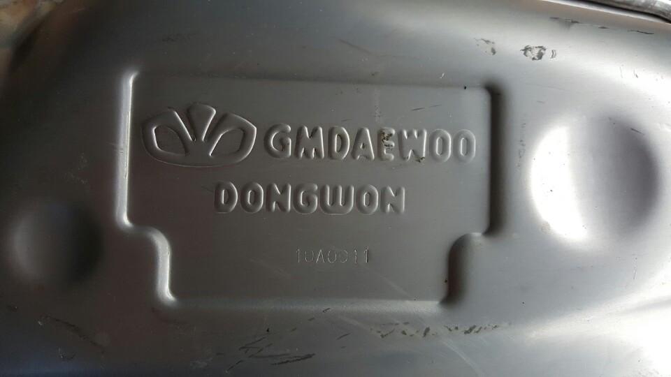 Ống xả đoạn cuối xe Captiva máy xăng chính hãng GM