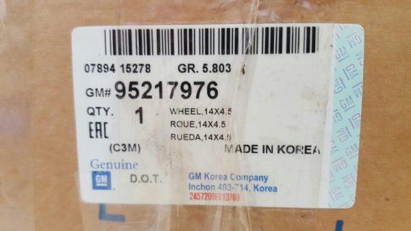 La giăng xe Spark M300 chính hãng GM