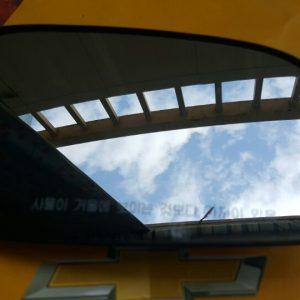 Mặt gương chiếu hậu xe Gentra chính hãng GM